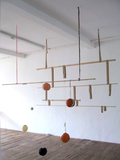 hanging pieces